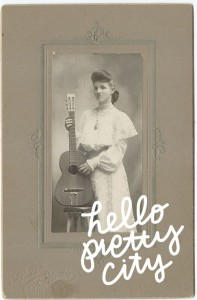 lady with guitar framed_hpc